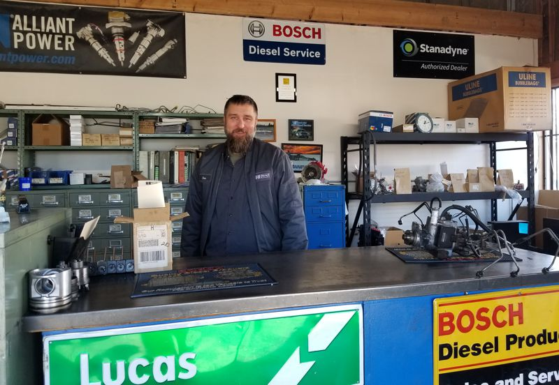 Dan diesel parts manager